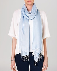 Phase Eight Fringe Scarf Mist