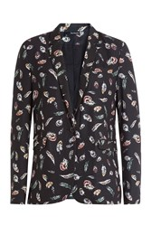The Kooples Printed Blazer Multicolor