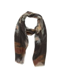 Braccialini Oblong Scarves Black