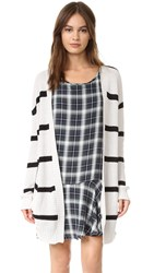 Bb Dakota Agustana Striped Cardigan Oatmeal