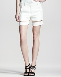 Alexander Wang Sheer Stripe Shorts