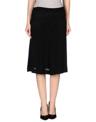 Alpha Studio 3 4 Length Skirts Black