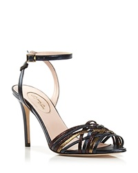 Sjp By Sarah Jessica Parker Ankle Strap Sandals Bloomingdale's Exclusive Maud Metallic