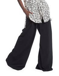 Tracy Reese Elephant Bell Bottom Pants Black