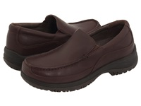 Dansko Wayne Mocha Full Grain Leather Men's Slip On Shoes Brown