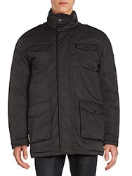 Tumi Solid Long Sleeve Jacket Black