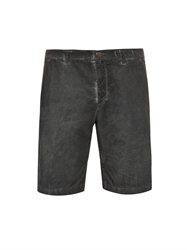 Massimo Alba Straight Leg Cotton Corduroy Shorts