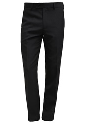 Tom Tailor Suit Trousers Pirate Black