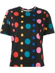 Paul Smith Ps Dot Print T Shirt Black