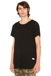 Stampd Chamber Scallop Tee Black