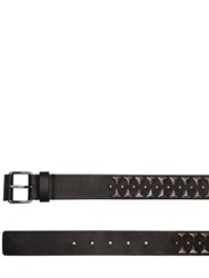 Givenchy 35Mm Studded Leather Belt