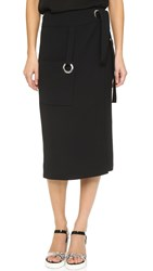A.L.C. Paige Skirt Black