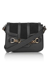 Topshop 'Camden' Faux Leather Crossbody Bag