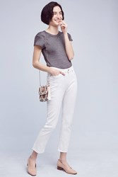 Anthropologie Mih Niki High Rise Jeans White