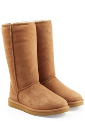 Ugg Australia Classic Tall Suede Boots Brown