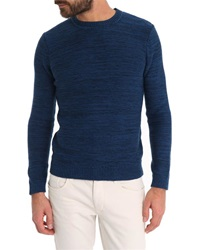 Ikks Two Tone Blue And Black Sweater