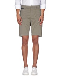 Guess By Marciano Trousers Bermuda Shorts Men Military Green