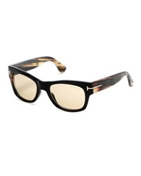 Tom Ford Tom No. 2 Private Collection Horn Sunglasses Green