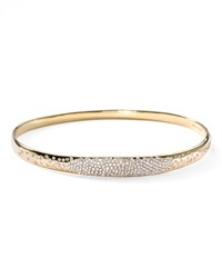 Stardust Wide Pave Diamond Gold Bangle Ippolita