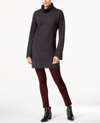 Sanctuary Connie Turtleneck Tunic Marled Charcoal