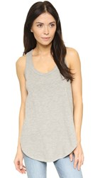 Wilt Shrunken Shirttail Tank Heather Grey