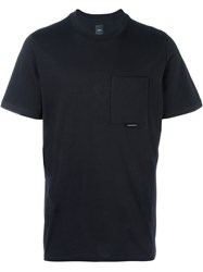 Oamc Buckle Detailing Pocket T Shirt Black