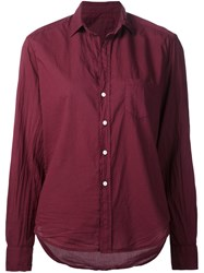 Frank And Eileen Patch Pocket Shirt Red