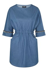 Cast Away Denim Dress By Goldie Blue