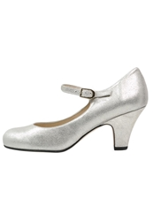 Kmb Elike Classic Heels Platino Silver