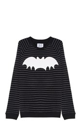 Zoe Karssen Bat Sweater Black