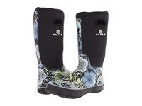Roper Flower Barn Boot Black Women's Rain Boots
