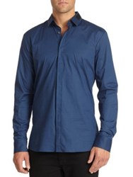 Hugo Boss Epos Ribbon Accented Sportshirt
