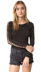 Free People Movement Rama Layering Top Black