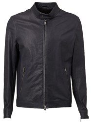 Drome Band Collar Jacket Black