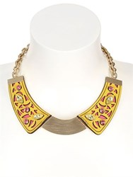Mrs Design Worldwide Animals Yellow Collar