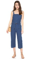 Shades Of Grey Utility Jumpsuit Medium Blue