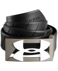 Under Armour Silicone Golf Belt Black