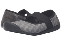 Keen Sienna Mj Canvas Houndstooth Women's Flat Shoes Black