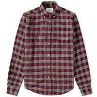 Portuguese Flannel Talha Check Shirt Red