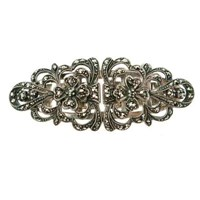 Passionate About Vintage Vintage Sterling Marcasite Duette