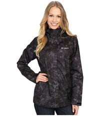 Columbia Arcadia Print Jacket Black Camo Women's Coat