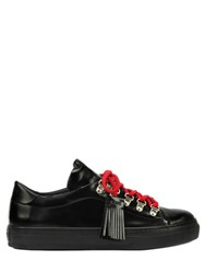 Tod's 30Mm Tasseled Leather Sneakers