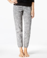 By Jennifer Moore Cat Printed Fleece Jogger Pajama Pants Only At Macy's Sleeping Cats