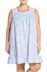 Eileen West Plus Size Women's Short Nightgown