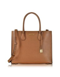 Michael Kors Mercer Large Convertible Bonded Leather Tote Luggage