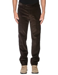 Hackett Casual Pants Dark Brown