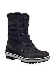 Helly Hansen Garibaldi 2 Faux Fur Lined Snow Boots Jet Black