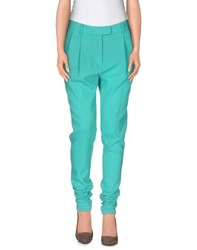 Marco Bologna Trousers Casual Trousers Women Turquoise