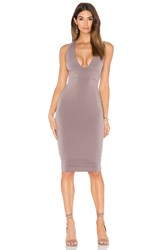 Nookie Cherish Midi Dress Taupe