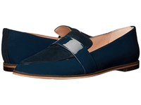 Dr. Scholl's Ashah Original Collection Navy Patent Suede Women's Shoes